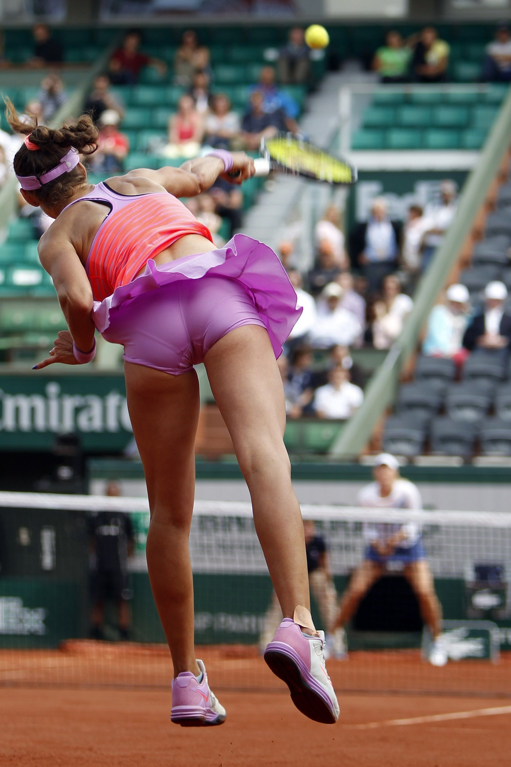 Alize cornet upskirt discuss impossible